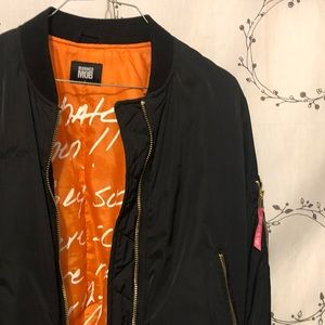 Married to the Mob Bomber Jacket Small